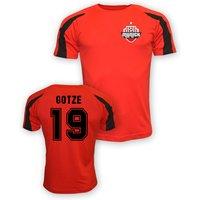 Mario Gotze Bayern Munich Sports Training Jersey (red) - Kids