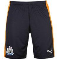 2016-2017 Newcastle Away Football Shorts (Navy)