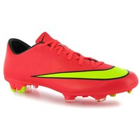 Nike Mercurial Victory FG World Cup Mens Football Boots (Punch-Gold)