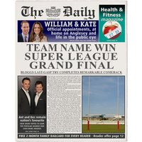 Personalised The Daily Rugby League Newspaper