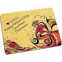 Personalised Floral Mother s Day Mouse Mat