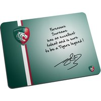 Personalised Leicester Tigers Legend Mouse Mat