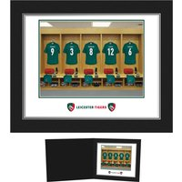 Personalised Leicester Tigers Dressing Room Photo