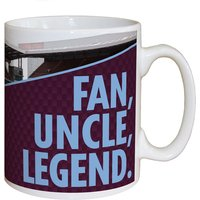 Personalised Aston Villa  Fan, Uncle, Legend  Mug