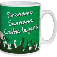Personalised Celtic Legend Mug