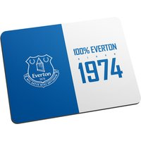 Personalised 100 percent Everton FC Mouse Mat