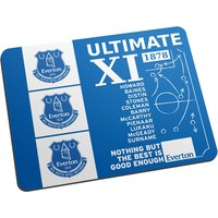 Personalised Everton FC Ultimate XI Mouse Mat
