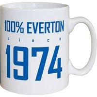 Personalised 100 percent Everton FC Mug