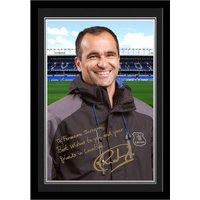 Personalised Everton Martinez Autograph Photo - Mounted & Framed