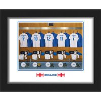 Personalised England Dressing Room Photo