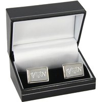Personalised Leicester City Emblem Cufflinks