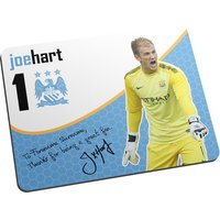 Personalised Manchester City FC Hart Great Fan Mouse Mat