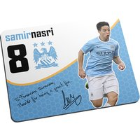 Personalised Manchester City FC Nasri Great Fan Mouse Mat