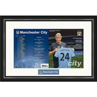 Personalised Manchester City Match Day Programme