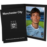 Personalised Silva Autograph Photo - Presentation Folder