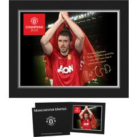 Personalised Champions 20|13 Player Photo - Michael Carrick