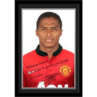 Personalised Valencia Autograph Photo - Mounted & Framed