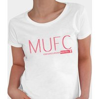 Personalised Womens Manchester United Club T-Shirt