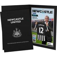 Personalised Newcastle United FC Magazine Cover