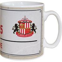 Personalised Sunderland FC Street Sign Mug