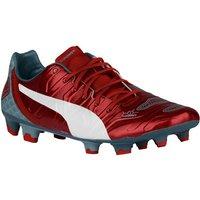 Puma Evopower 1.2 Firm Ground Football Boots (Red)
