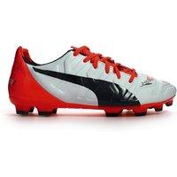 Puma Evopower 2.2 AG Football Boots (White-Orange)