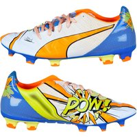 Puma Evopower 2.2 Pop Fg Football Boots (white)