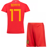 2018-19 Belgium Home Mini Kit (Boyata 17)