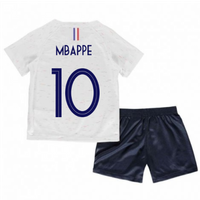 2018-2019 France Away Nike Baby Kit (Mbappe 10)