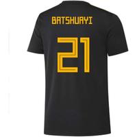 2018-2019 Belgium Adidas Training Shirt (Black) (Batshuayi 21) - Kids