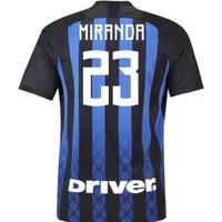 2018-19 Inter Milan Home Football Shirt (Miranda 23)