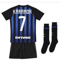 2018-19 Inter Milan Home Mini Kit (Karamoh 7)