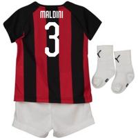 2018-2019 AC Milan Puma Home Baby Kit (Maldini 3)