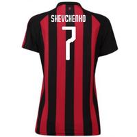 2018-2019 Ac Milan Puma Home Womens Shirt (shevchenko 7)