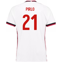 2017-18 Ac Milan Away Shirt (Pirlo 21)