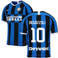 2019-2020 Inter Milan Authentic Vapor Match Home Nike Shirt (Regazzoli 10)