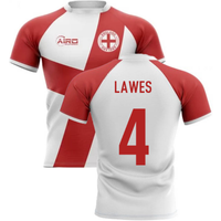 2020-2021 England Flag Concept Rugby Shirt (Lawes 4)