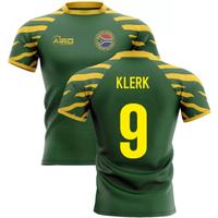 2020-2021 South Africa Springboks Home Concept Rugby Shirt (Klerk 9)