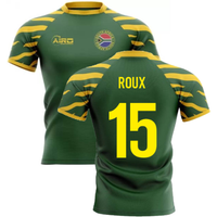 2020-2021 South Africa Springboks Home Concept Rugby Shirt (Roux 15)
