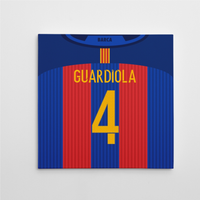 2016-2017 Barcelona Canvas Print (Guardiola 4)