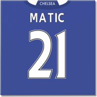 2016-2017 Chelsea Canvas Print (Matic 21)