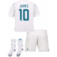 2017-17 Real Madrid Home Full Kit (James 10)