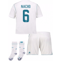 2017-17 Real Madrid Home Full Kit (Nacho 6)
