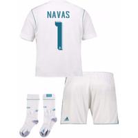 2017-17 Real Madrid Home Full Kit (Navas 1)