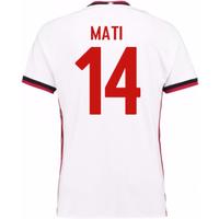 2017-18 Ac Milan Away Shirt (Mati 14)