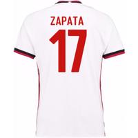 2017-18 Ac Milan Away Shirt (Zapata 17)
