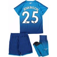 2017-18 Arsenal Away Mini Kit (Jenkinson 25)