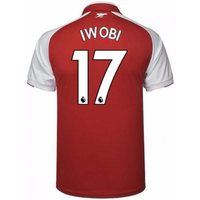 2017-18 Arsenal Home Shirt (Iwobi 17)