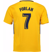 2017-18 Atletico Madrid Away Shirt (Forlan 7)