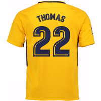 2017-18 Atletico Madrid Away Shirt (Thomas 22) - Kids